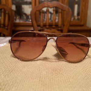 Oakley Gold Sanctuary Sunglasses NWT